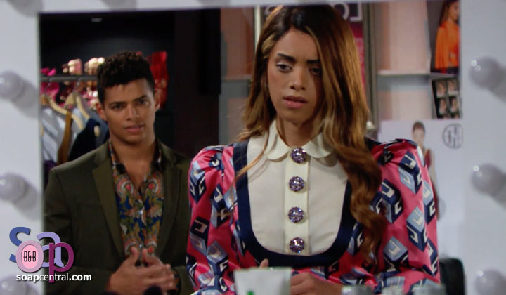 By pursuing Zende, is Zoe doing to Carter what Thomas did to her?