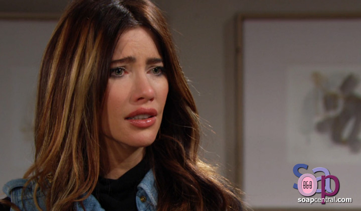 Steffy apologizes to those she hurt