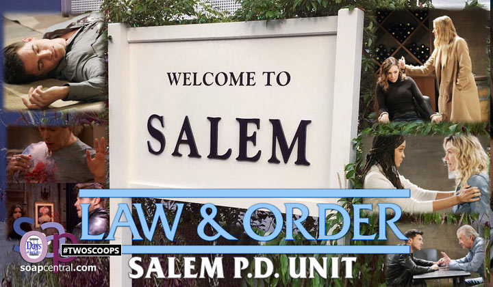 TWO SCOOPS: Law and Order: Salem PD Unit