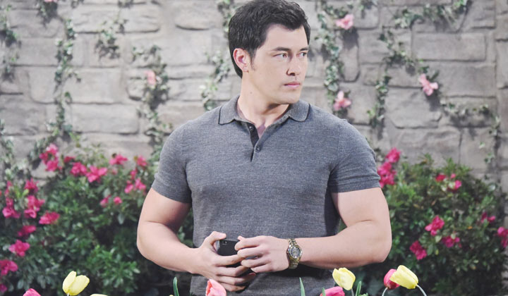 TODAY: Christopher Sean airs for the final time as Days of our Lives's Paul Narita