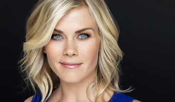 DAYS' Alison Sweeney returns -- and she's back on set!