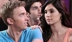 Camilla Banus and Chandler Massey