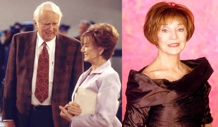 Beloved DAYS pair Peggy McCay and Frank Parker die within weeks of each other