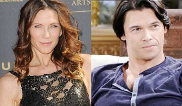 Trouble, trouble, trouble: Stacy Haiduk and Paul Telfer back to Days of our Lives
