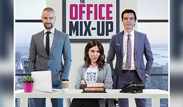 Days of our Lives' Kate Mansi stars in The Office Mix-Up opposite Matthew and Joey Lawrence