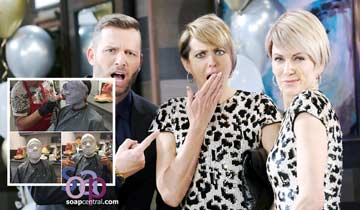 PHOTOS: Days of our Lives' Arianne Zucker shares behind-the-scenes snaps of Nicole and Kristen's faceoff