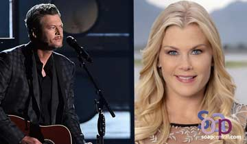 Days of our Lives' Alison Sweeney lands Blake Shelton Hallmark Christmas film