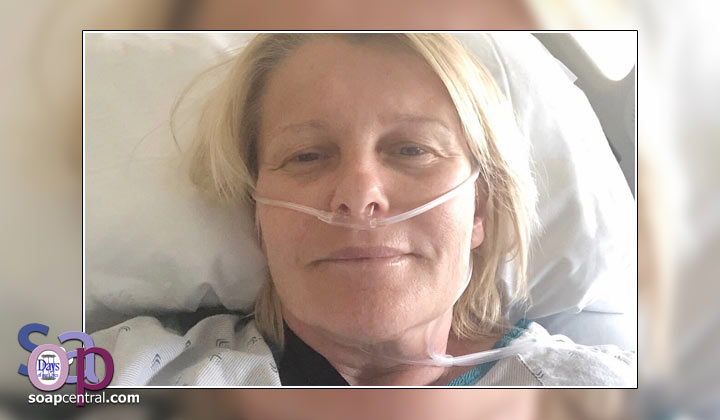Days of our Lives' Judi Evans hospitalized after serious horse-riding accident