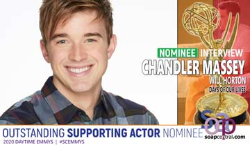 INTERVIEW: Days of our Lives' Chandler Massey on his Emmy nomination, justice for WilSon