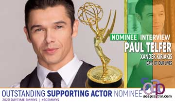INTERVIEW: Days of our Lives' Paul Telfer on Emmys and the MANY sides of Xander
