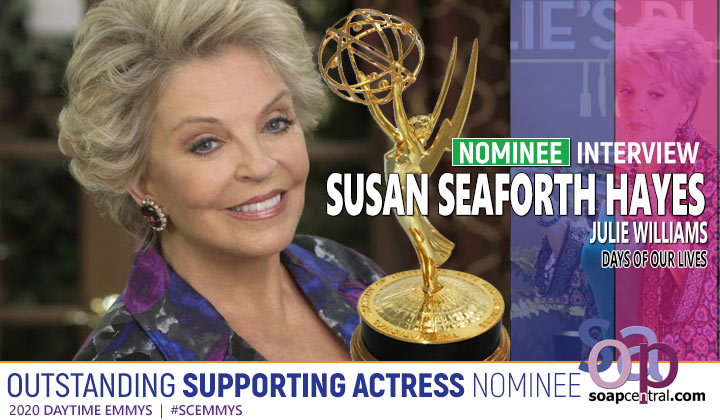 INTERVIEW: Days of our Lives' Susan Seaforth Hayes reacts to her sixth Emmy nomination