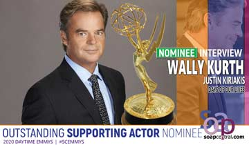 INTERVIEW: Days of our Lives' Wally Kurth on his Emmy nomination and playing Justin's many colors