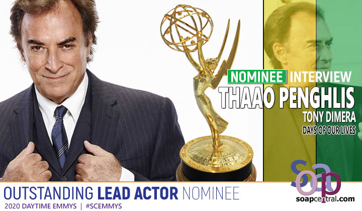 Days of our Lives' Thaao Penghlis on his Emmy nomination, foreign representation on soaps