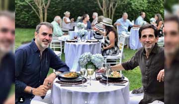 OLTL/GH/DAYS head writer Ron Carlivati marries his longtime partner, David Rogal