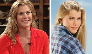 DAYS' Alison Sweeney remembers her first moments as Sami Brady