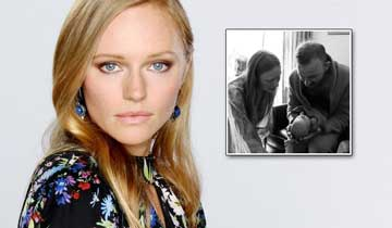 SURPRISE! Days of our Lives Marci Miller welcomes a baby girl