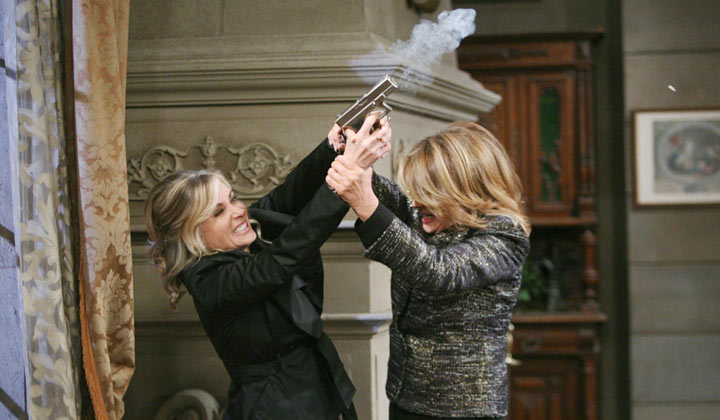 Are you ready to watch Marlena and Kristen rumble again?