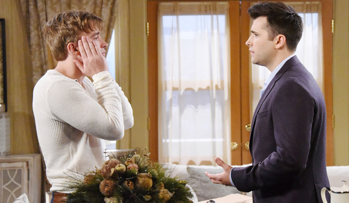 Chandler Massey and Freddie Smith discuss their Days of our Lives exit; say they learned of their shocking fate via scripts