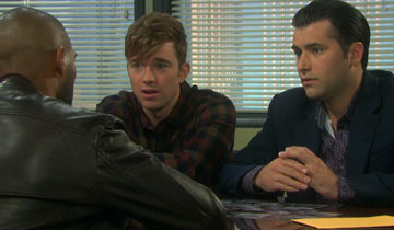 Eli questioned Will and Sonny