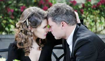 Greg Vaughan, Linsey Godfrey temporarily check out of Days of our Lives