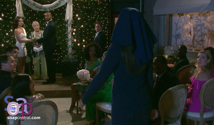 What went through your mind when nun-clad Lani interrupted Eli and Gabi's wedding?