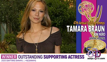 SUPPORTING ACTRESS: GH's Tamara Braun wins her second Daytime Emmy