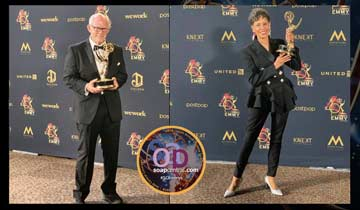 SUPPORTING ACTOR AND ACTRESS: General Hospital's Max Gail and Vernee Watson
