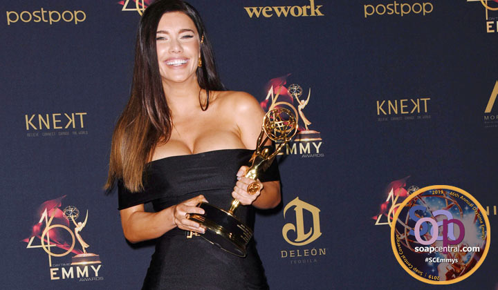 LEAD ACTRESS: B&B's Jacqueline MacInnes Wood earns gold