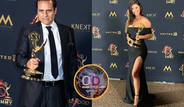 LEAD ACTOR AND ACTRESS: B&B's Jacqueline MacInnes Wood, GH's Maurice Benard earn gold