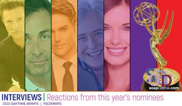 2020 Daytime Emmy Reaction: The stars share their reactions to their Daytime Emmy nominations
