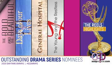 NATAS reveals which episodes all four soaps chose as part of their Emmy reels