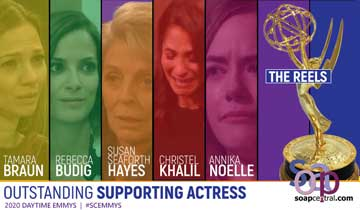 Clips from the Outstanding Supporting Actress reels released