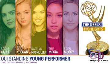 Highlights of Young Performer Emmy reels released