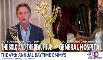 2020 Daytime Emmys: The Bold and the Beautiful wins for Writing, General Hospital Directors have a Dickens of a time