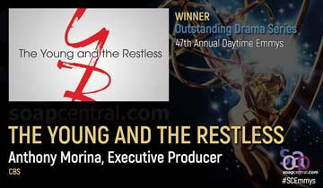 DRAMA SERIES: For the eleventh time, Y&R named daytime's top soap