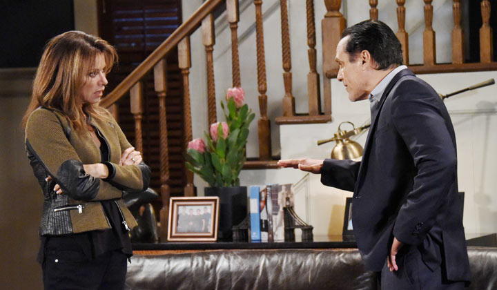 Sonny and Alexis discuss a plan of action