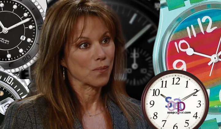 What do you think is the significance of Alexis' mother's watch stopping at 10:10?