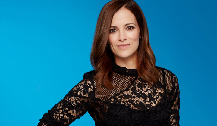 Rebecca Budig returns to General Hospital as Hayden Barnes