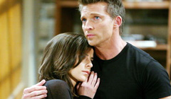 Steve Burton and Kelly Monaco