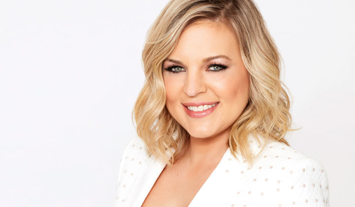 Kirsten Storms tells fans to keep fingers crossed