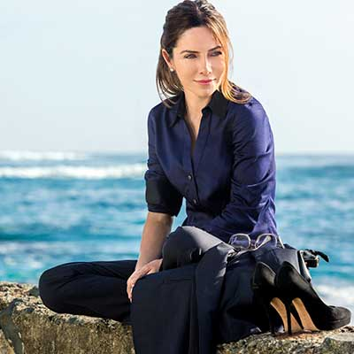Vanessa Marcil gets Stranded in Paradise