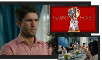 General Hospital's Ava and Grace Scarola book Grand Hotel, join former TV sibling Bryan Craig