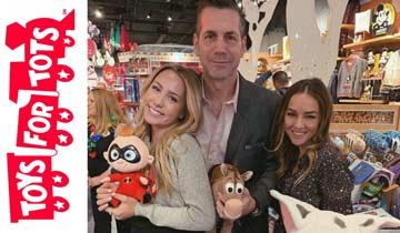 GH and Disney to spread holiday magic via Toys for Tots