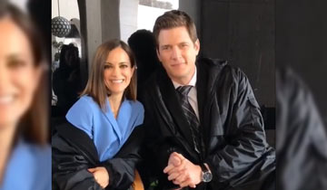 FIRST LOOK: GH and AMC star Rebecca Budig on set at L.A.'s Finest