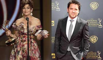 General Hospital stars Dominic Zamprogna and Carolyn Hennesy land powerful films by soap's producer Nate Hapke