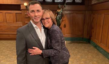Hillary B. Smith brings One Life to Live attorney Nora Buchanan back to General Hospital