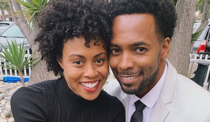 General Hospital alums Vinessa Antoine and Anthony Montgomery back together