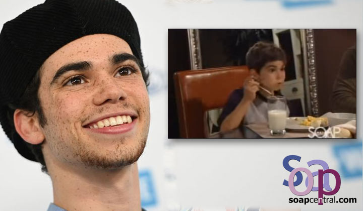 General Hospital Night Shift Alum Cameron Boyce Dead At 20 General Hospital On Soap Central