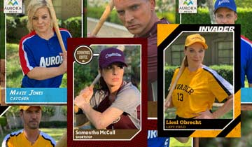 General Hospital releases softball trading cards of Port Charles players