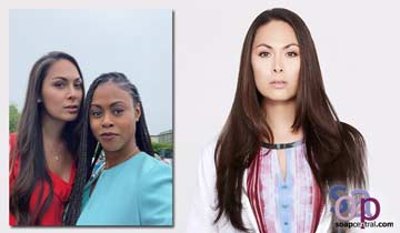 General Hospital's Cassandra James joins Port Charles alum Vinessa Antoine on Diggstown